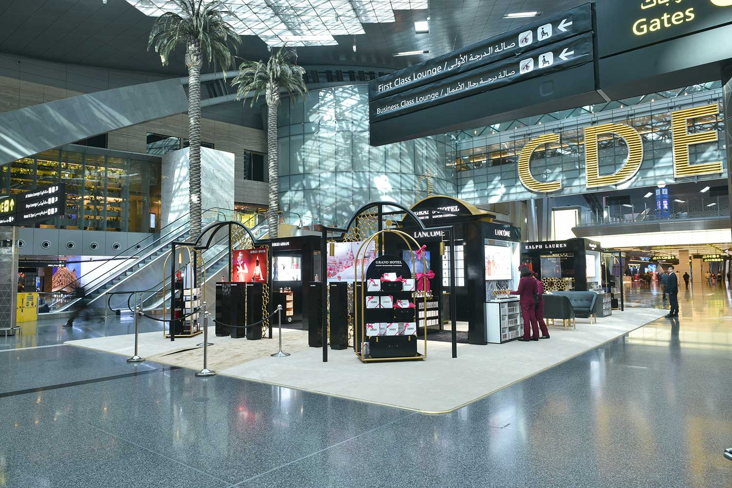 Winning Travel Retail Pop-Up and Store Initiatives from L'Oreal, Coty, Molton Brown and Rituals
